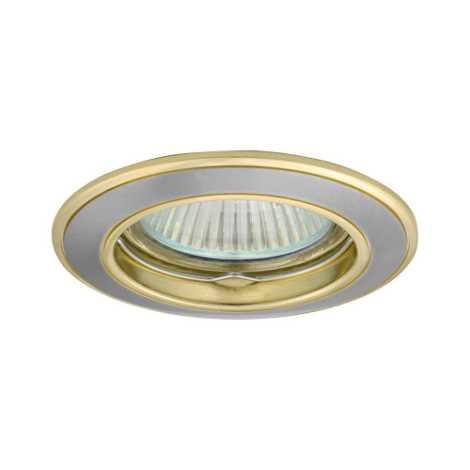 Podhledové svítidlo AXL 5514 1xMR16/50W saténový nikl / zlatá - GXPL018