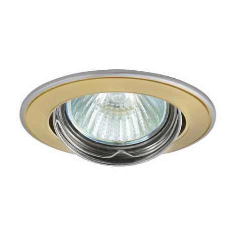 Podhledové svítidlo AXL 5515 1xMR16/50W saténové zlato / nikl - GXPL045