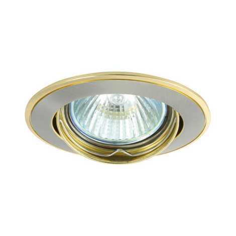 Podhledové svítidlo AXL 5515 1xMR16/50W saténový nikl / zlatá - GXPL043