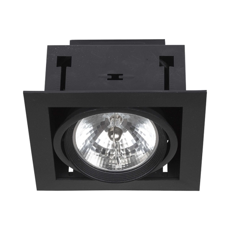 Podhledové svítidlo DOWNLIGHT BLACK 1xAR111/50W/12V