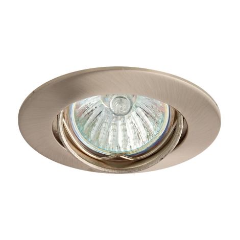 Podhledové svítidlo SLASH 5519 1xMR11/35W saténový nikl - GXPL040