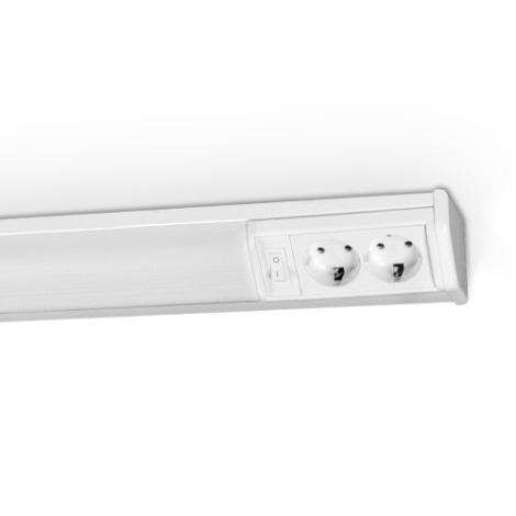 Podlinkové svítidlo REGA 1xG5/8W/230V 6400K bílá