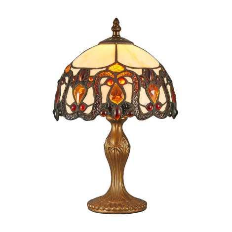Prezent 124 - Stolní lampa TIFFANY 1xE14/40W/230V