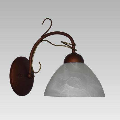 Prezent 31024 - ALLEGRA Nástěnné svítidlo 1xE27/60W/230V