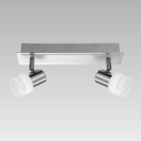 Prezent 49021 - Bodové svítidlo MONK 2xG9/33W/230V