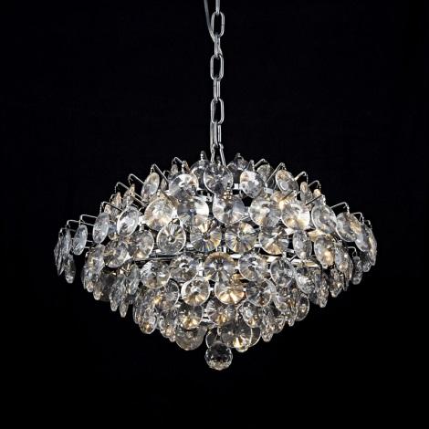 Prezent 64322 - Křišťálové stropní svítidlo BARONESSA 5xE14/40W/230V