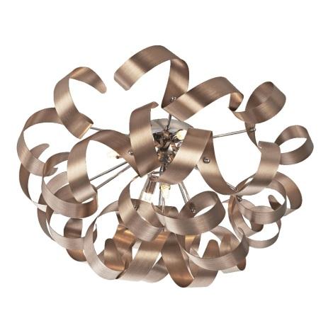 Prezent 64357 - Stropní svítidlo RIBBON 5xG9/33W/230V
