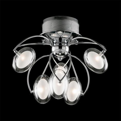 Prezent 69041 - PENELOPA Stropní přisazené svítidlo 6xG4/20W/230V