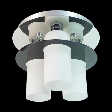 Prezent 69044 - MACAO Stropní přisazené svítidlo 6xE27/60W+6xLED/3W/230V