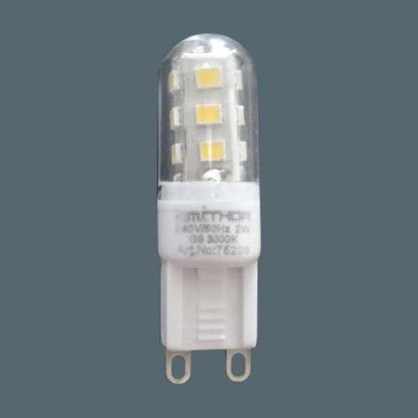 Prezent 75209 -  LED žárovka 1x G9/2W/220-240V