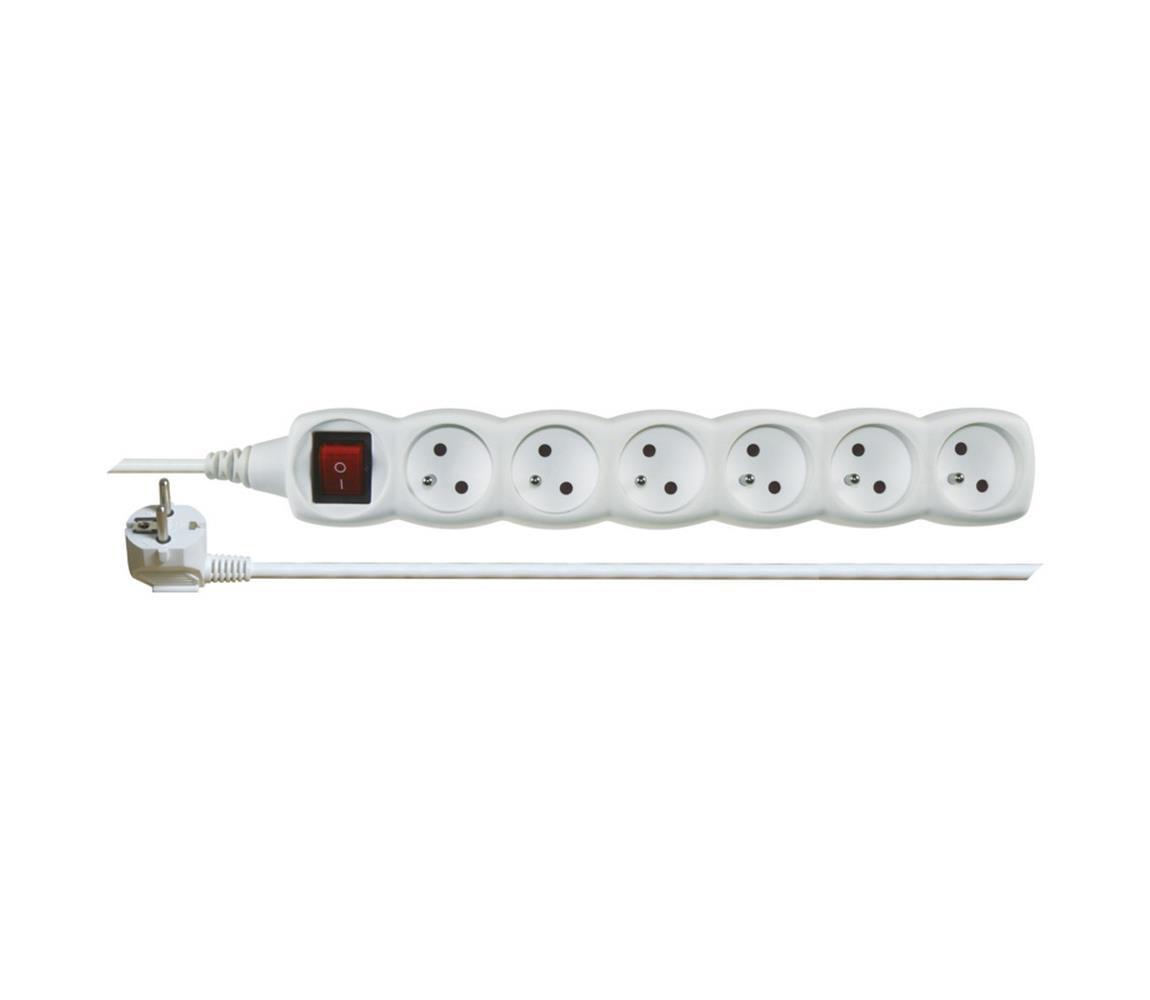 EMOS Prodlužovací kabel s vypínačem 6Z 3m