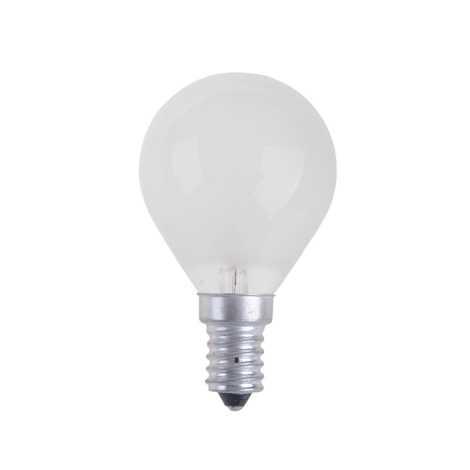 Průmyslová žárovka BALL FROSTED E14/25W/230V