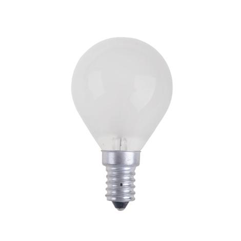 Průmyslová žárovka BALL FROSTED E14/60W/230V