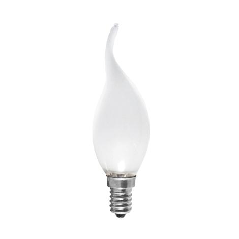 Průmyslová žárovka CANDLE FROSTED E14/40W/230V