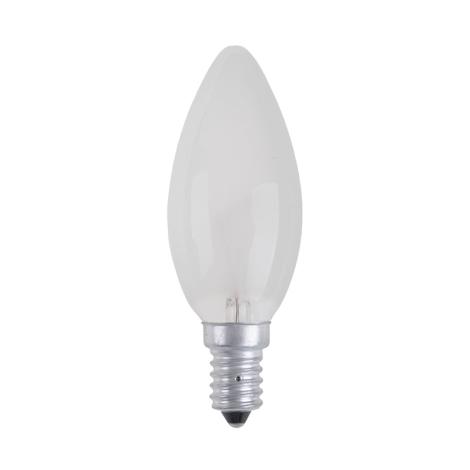 Průmyslová žárovka CANDLE FROSTED E14/60W/230V