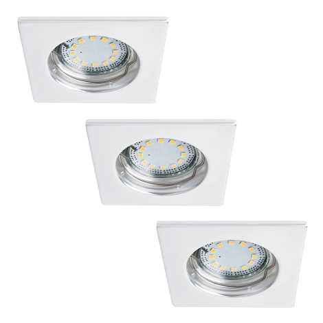 Rabalux 1052 - SADA 3x LED podhledové svítidlo LITE 3xGU10-LED/3W/230V