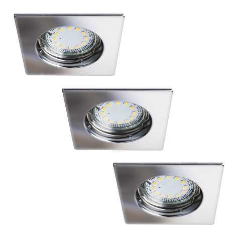 Rabalux 1053 - SADA 3x LED podhledové svítidlo LITE 3xGU10-LED/3W/230V