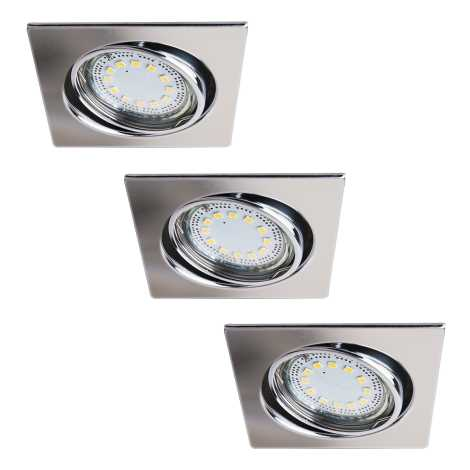 Rabalux 1056 - SADA 3x LED podhledové svítidlo LITE 3xGU10-LED/3W/230V
