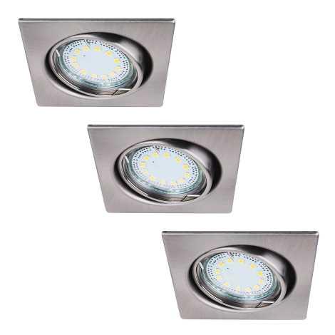 Rabalux 1057 - SADA 3x LED podhledové svítidlo LITE 3xGU10-LED/3W/230V