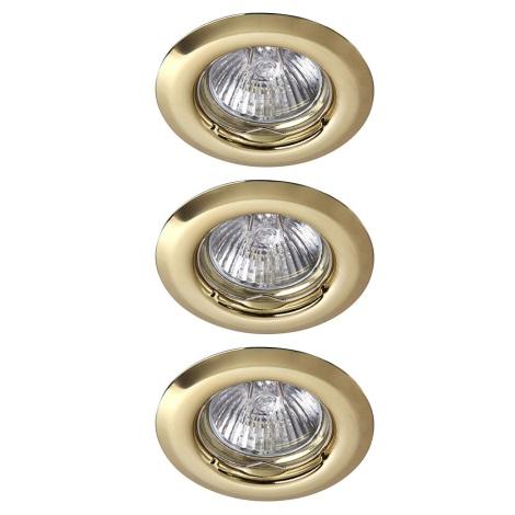Rabalux 1102 - SADA 3x Podhledové svítidlo SPOT LIGHT 3xGU10/50W/230V
