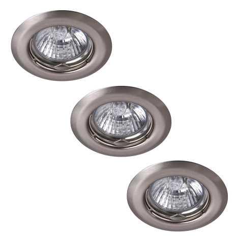 Rabalux 1104 - SADA 3x Podhledové svítidlo SPOT LIGHT 3xGU10/50W/230V