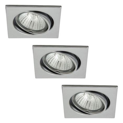 Rabalux 1133 - SADA 3x Podhledové svítidlo SPOT LIGHT 3xGU10/50W/230V