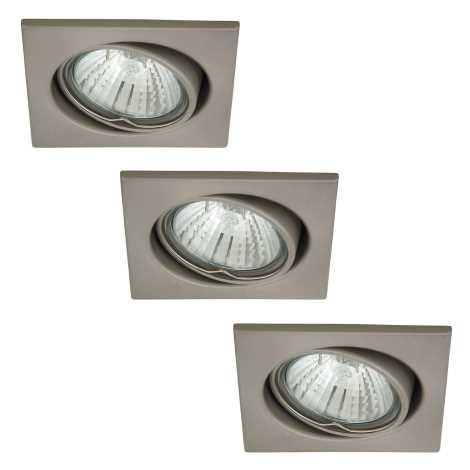 Rabalux 1134 - SADA 3x Podhledové svítidlo SPOT LIGHT 3xGU10/50W/230V