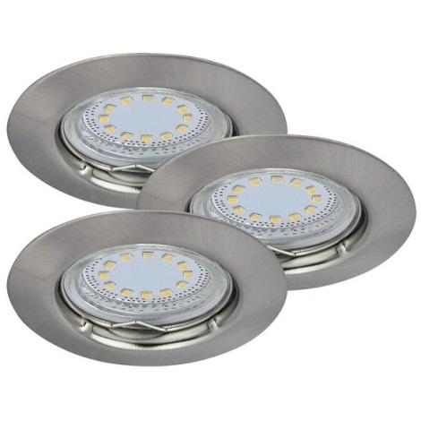 Rabalux 1163 - SADA 3x LED podhledové svítidlo LITE 3xGU10-LED/3W/230V