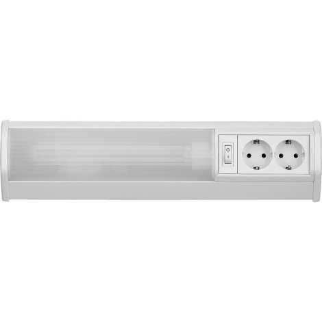 Rabalux 2321 - Podlinkové svítidlo BATH G23/11W/230V