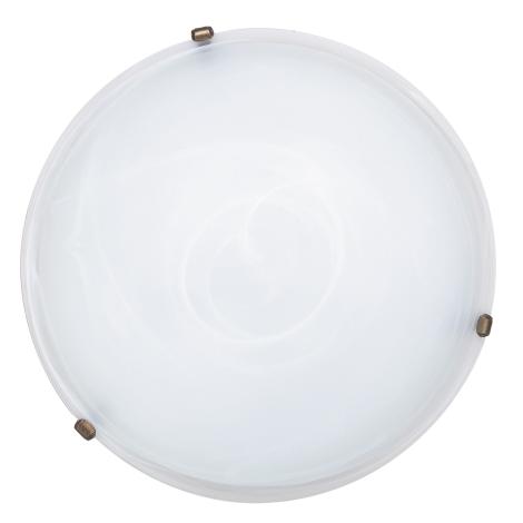 Rabalux 3739 - Stropní svítidlo ALABASTRO 3xE27/40W/230V