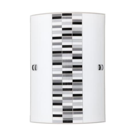 Rabalux 3931 - Nástěnné svítidlo DOMINO 1xE27/60W/230V