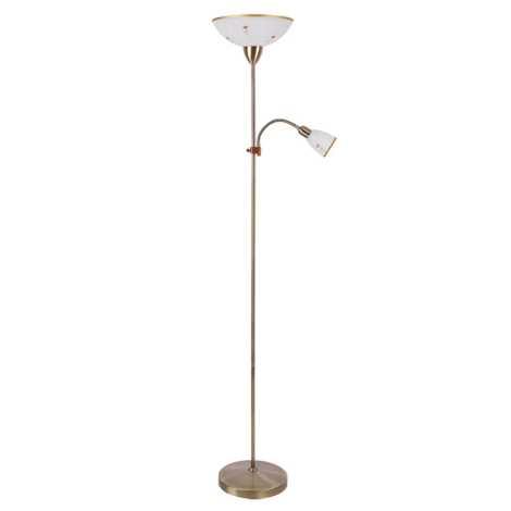 Rabalux 4009 - Stojací lampa ART FLOWER 1xE27/60W/+1xE14/40W