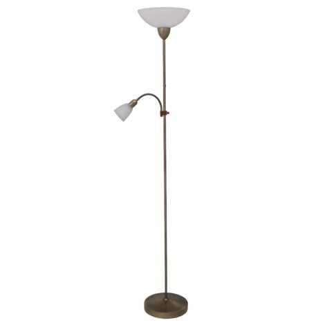 Rabalux 4019 - Stojací lampa PEARL CLASSIC 1xE27/60W+1xE14/40W