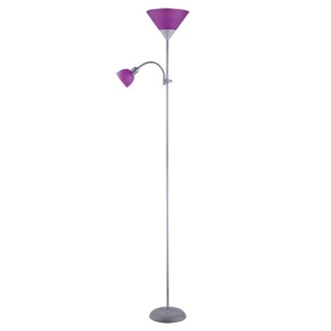 Rabalux 4020 - Stojací lampa ACTION 1xE27/100W+E14/25W