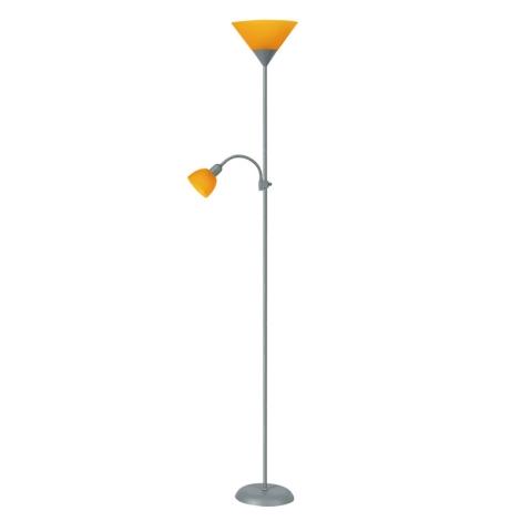 Rabalux 4026 - Stojací lampa ACTION 1xE27/100W+E14/25W