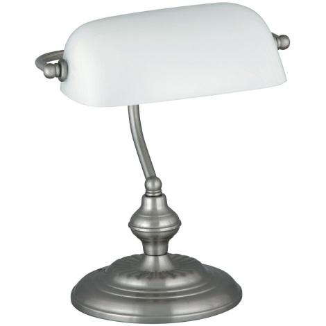 Rabalux 4037 - Stolní lampa BANK 1xE27/60W/230V