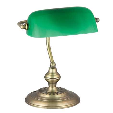 Rabalux 4038 - Stolní lampa BANK 1xE27/60W/230V