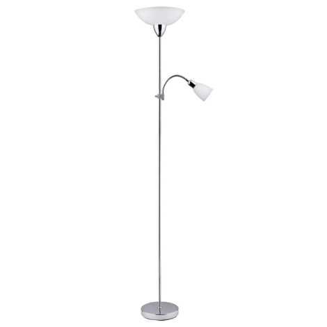 Rabalux 4059 - Stojací lampa DIANA 1xE27/60W+E14/40W