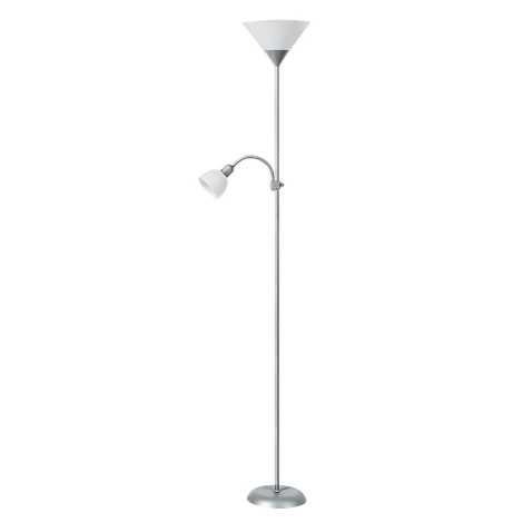 Rabalux 4064 - Stojací lampa ACTION 1xE27/100W+E14/25W