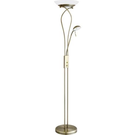 Rabalux 4078 - Stojací lampa GAMMA 1xR7s/230W + 1xG9/40W