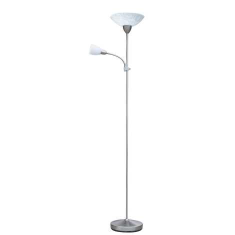 Rabalux 4092 - Stojací lampa FLOWER 1xE27/100W + 1xE14/40W