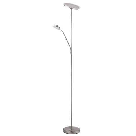 Rabalux 4162 - Stojací lampa AARON 1xLED/18W + 1xLED/5W