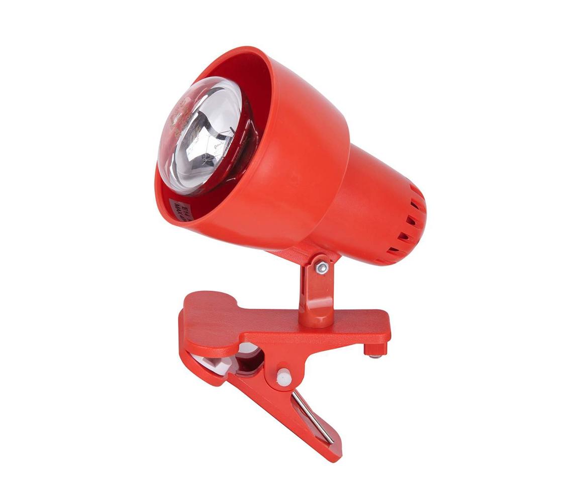Rabalux Rabalux 4358 - Lampa s klipem CLIP 1xE14/40W/230V oranžová RL4358