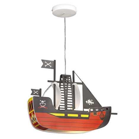 Rabalux 4719 - Dětský lustr SHIP 1xE27/40W/230V