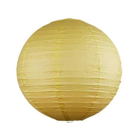 Rabalux 4893 - Stínidlo RICE žlutá pr.30 cm