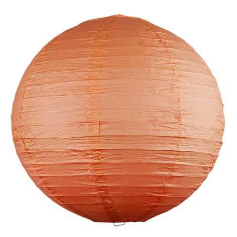 Rabalux 4896 - Stínidlo RICE oranžová pr.40 cm