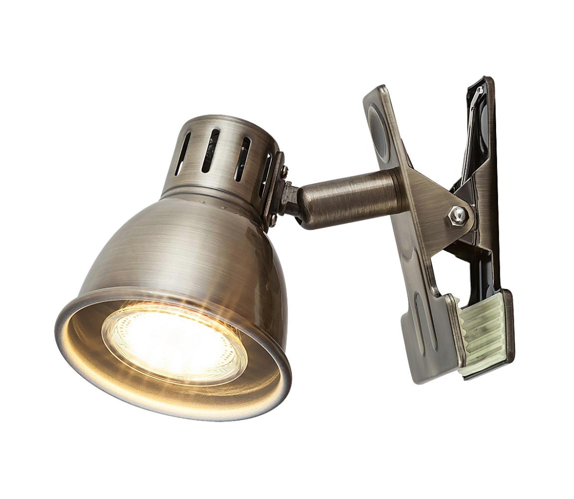 Rabalux Rabalux 6718 - Lampa s klipem RALPH GU10/15W RL6718