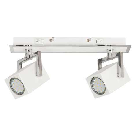 Rabalux 6738 - LED Bodové svítidlo NARA 2xGU10/4,5W/230V