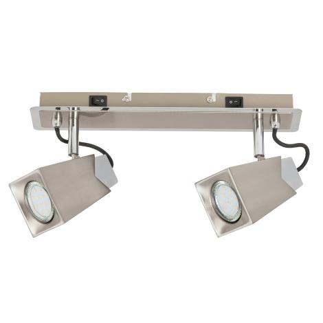 Rabalux 6746 - LED bodové svítidlo RADA 2xGU10/4,5W/230V