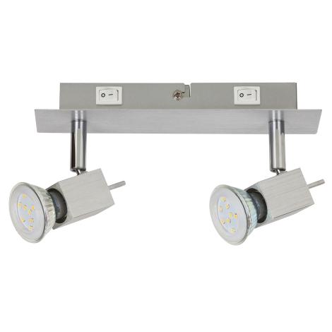 Rabalux 6758 - LED bodové svítidlo 2xGU10/5W/230V